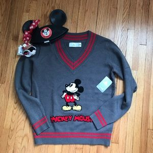 NWT Mickey Mouse Sweater Vintage Inspired